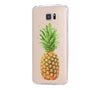 Color Pineapple Fruits Samsung Galaxy S6 Edge Clear Case Galaxy S6 Transparnet Case S5 Hard Case iPhone Crystal  Case - Acyc - 1