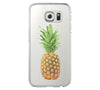 Color Pineapple Fruits Samsung Galaxy S6 Edge Clear Case Galaxy S6 Transparnet Case S5 Hard Case iPhone Crystal  Case - Acyc - 2