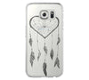 Heart Dreamcatcher Samsung Galaxy S6 Edge Clear Case Galaxy S6 Transparnet Case S5 Hard Case iPhone Crystal  Case - Acyc - 2