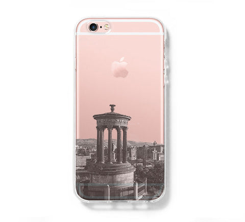 Edinburgh Calton Hill iPhone 6s 6 Clear Case iPhone 6 plus Cover iPhone 5s 5 5c Transparent Case Galaxy S6 Edge S6 S5 Case - Acyc - 1
