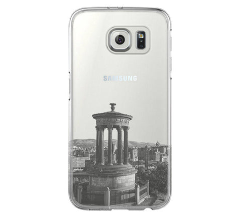 Edinburgh Calton Hill Samsung Galaxy S6 Edge Clear Case Galaxy S6 Transparnet Case S5 Hard Case iPhone Crystal  Case - Acyc - 1