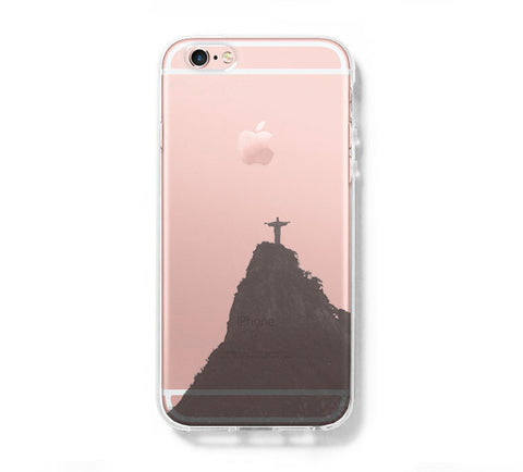 Rio de janeiro iPhone 6s 6 Clear Case iPhone 6 plus Cover iPhone 5s 5 5c Transparent Case Galaxy S6 Edge S6 S5 Case - Acyc - 1