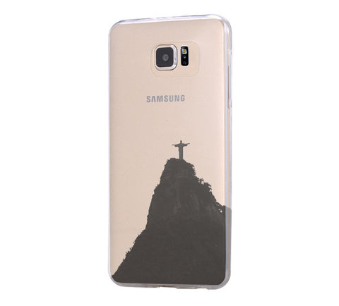 Rio de janeiro Samsung Galaxy S6 Edge Clear Case Galaxy S6 Transparnet Case S5 Hard Case iPhone Crystal  Case - Acyc - 1