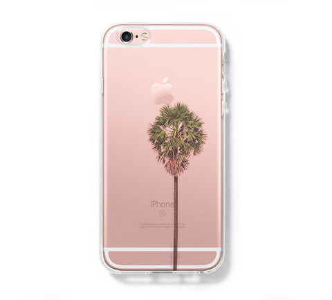 Palm Tree Summer  iPhone 6s 6 Clear Case iPhone 6 plus Cover iPhone 5s 5 5c Transparent Case Galaxy S6 Edge S6 S5 Case - Acyc - 1