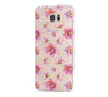 Flowers Print Samsung Galaxy S6 Edge Clear Case Galaxy S6 Transparnet Case S5 Hard Case iPhone Crystal  Case - Acyc - 1