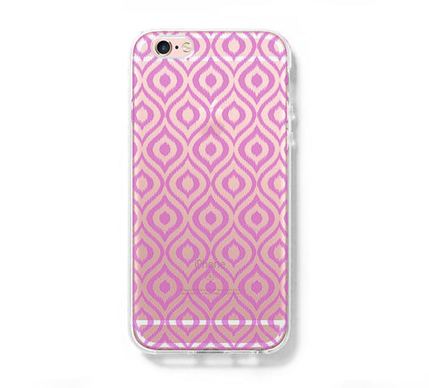 Violet Chevron iPhone 6s 6 Clear Case iPhone 6 plus Cover iPhone 5s 5 5c Transparent Case Galaxy S6 Edge S6 S5 Case - Acyc - 1