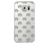 Elephant Design Samsung Galaxy S6 Edge Clear Case Galaxy S6 Transparnet Case S5 Hard Case iPhone Crystal  Case - Acyc - 2