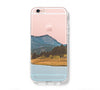 Countryside Lake Mountain iPhone 6s 6 Clear Case iPhone 6 plus Cover iPhone 5s 5 5c Transparent Case Galaxy S6 Edge S6 S5 Case - Acyc - 1