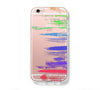 Rainbow Watercolor iPhone 6s 6 Clear Case iPhone 6 plus Cover iPhone 5s 5 5c Transparent Case Galaxy S6 Edge S6 S5 Case - Acyc - 1
