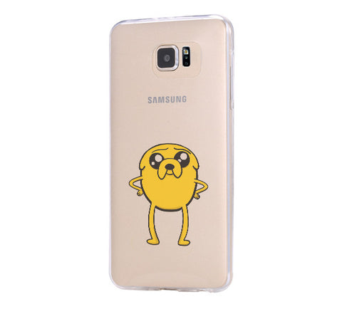 Adventure Time Jake Samsung Galaxy S6 Edge Clear Case Galaxy S6 Transparnet Case S5 Hard Case iPhone Crystal  Case - Acyc - 1