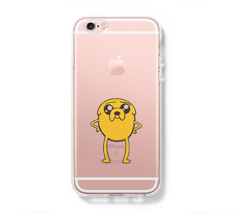 Adventure Time Jake iPhone 6s 6 Clear Case iPhone 6 plus Cover iPhone 5s 5 5c Transparent Case Galaxy S6 Edge S6 S5 Case - Acyc - 1