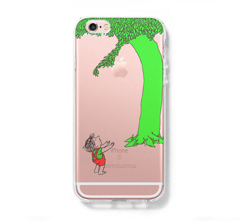 Giving Tree iPhone 6s 6 Clear Case iPhone 6 plus Cover iPhone 5s 5 5c Transparent Case Galaxy S6 Edge S6 S5 Case - Acyc - 1
