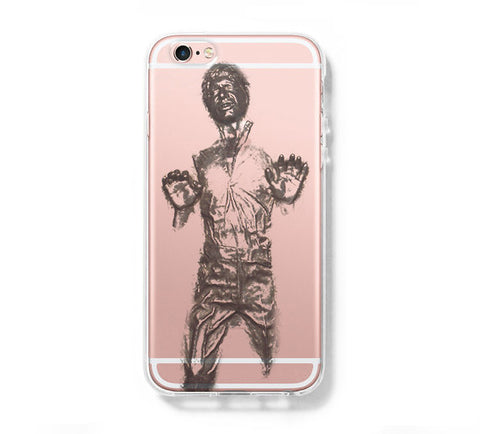 Star War Han Solo iPhone 6s 6 Clear Case iPhone 6 plus Cover iPhone 5s 5 5c Transparent Case Galaxy S6 Edge S6 S5 Case - Acyc - 1