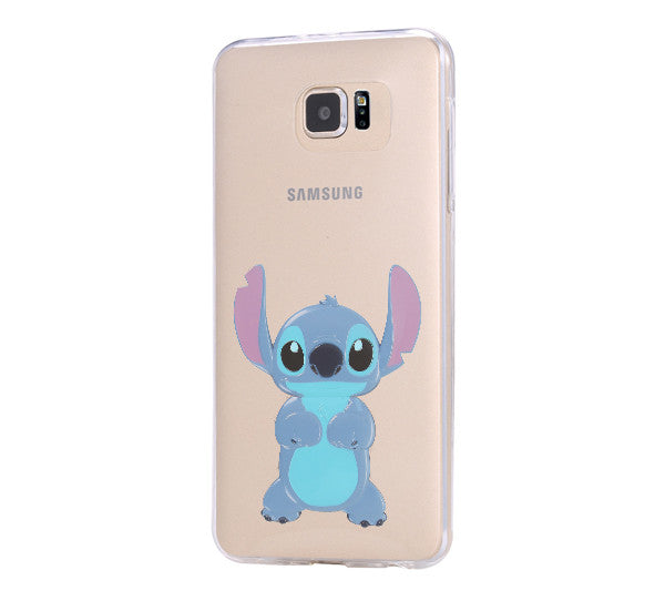 Lion Stitch Samsung Galaxy S6 Edge Clear Case Galaxy S6