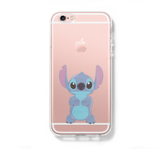 factory price d9fc9 e325a Lion Stitch iPhone 6s 6 Clear Case iPhone 6 plus Cover iPhone 5s 5 5c  Transparent Case Galaxy S6 Edge S6 S5 Case
