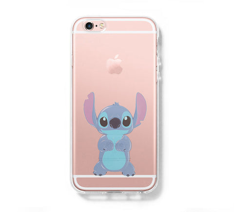 Lion Stitch iPhone 6s 6 Clear Case iPhone 6 plus Cover iPhone 5s 5 5c Transparent Case Galaxy S6 Edge S6 S5 Case - Acyc - 1