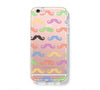 Colorful Mustache iPhone 6s 6 Clear Case iPhone 6 plus Cover iPhone 5s 5 5c Transparent Case Galaxy S6 Edge S6 S5 Case - Acyc - 1