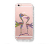 Retro Native Ethnic Bird Pattern iPhone 6s 6 Clear Case iPhone 6S/6 Plus Cover iPhone 5s 5 5c Transparent Case Galaxy S6 Edge S6 S5 Case - Acyc - 1