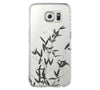 Bamboo Tree Samsung Galaxy S6 Edge Clear Case Galaxy S6 Transparnet Case S5 Hard Case iPhone Crystal  Case - Acyc - 1