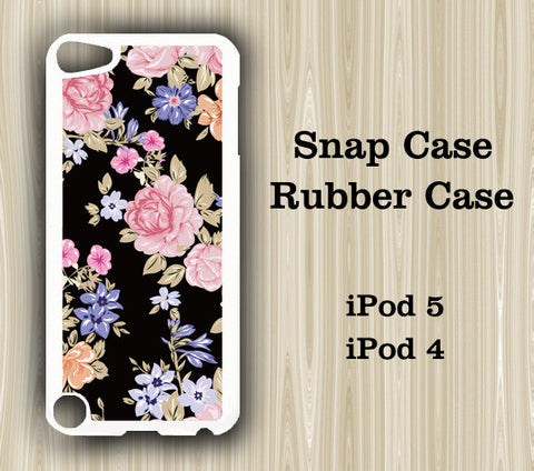 Classic Floral iPod Touch 5 Case iPod Touch 4 Case - Acyc - 1