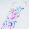 Wild Flower Blue  Samsung Galaxy S6 Edge Clear Case Galaxy S6 Transparnet Case S5 Hard Case iPhone Crystal  Case - Acyc - 3