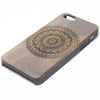 Retro Madala Floral  Natural Wood Engraved iPhone 6s Case iPhone 6s plus Cover iPhone 6 5s 5 Real Wooden Case - Acyc - 2