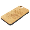 Koi Fish Animal Natural Wood Engraved iPhone 6s Case iPhone 6s plus Cover iPhone 6 5s 5 Real Wooden Case - Acyc - 2