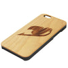 Fairy Tale Logo Symbol Anime Natural Wood Engraved iPhone 6s Case iPhone 6s plus Cover iPhone 6 5s 5 Real Wooden Case - Acyc - 2