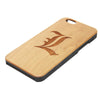 L Deathe Note Logo Anime Natural Wood Engraved iPhone 6s Case iPhone 6s plus Cover iPhone 6 5s 5 Real Wooden Case - Acyc - 2
