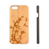 Bamboo Tree Leaves Natural Wood Engraved iPhone 6s Case iPhone 6s plus Cover iPhone 6 5s 5 Real Wooden Case - Acyc - 1