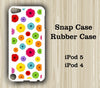 Floral Seamless iPod Touch 5 Case iPod Touch 4 Case - Acyc - 1