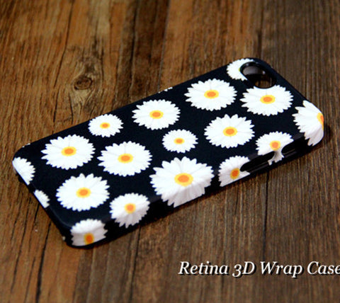 Chrysanthemum Flowers iPhone 6 Plus/6/5S/5C/5/4S/4  Dual Layer Durable Tough Case #218 - Acyc - 1