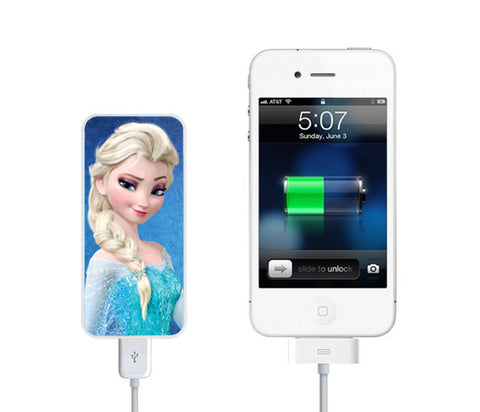 Frozen Lisa Power Bank External Battery Charger for iPhone and Samsung Andriod - Acyc - 1
