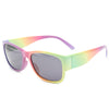 Abstract Pastel Color Wayfarer Sunglass Stylish Summer Glasses - Acyc - 1