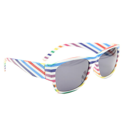 Color Stripes Wayfarer Sunglass Custom Summer Glasses - Acyc - 1