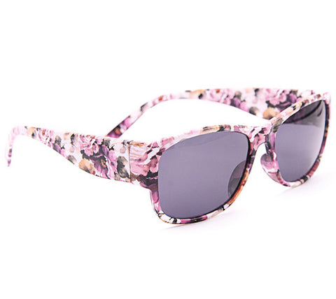 Abstract Wayfarer Women Floral Sunglasses - Acyc