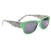 Green Leopard Stylish Wayfarer Sunglass Stylish Summer Glasses - Acyc - 1