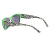 Green Leopard Stylish Wayfarer Sunglass Stylish Summer Glasses - Acyc - 3