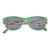 Green Leopard Stylish Wayfarer Sunglass Stylish Summer Glasses - Acyc - 4