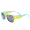Pastel Yellow Turquoise Wayfarer Sunglass Stylish Summer Glasses G035 - Acyc - 1