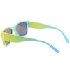 Pastel Yellow Turquoise Wayfarer Sunglass Stylish Summer Glasses G035 - Acyc - 3