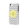 Gray Chevron Monogram iPhone Case and Samsung Case - Acyc - 1