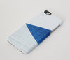 Geometric Blue White Wood Stripes  iPhone 6 Plus 5S 5 5C 4 Dual Layer Durable Tough Case #268 - Acyc - 4