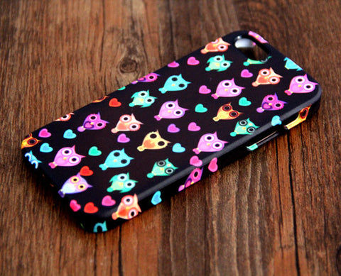 Owl Design Pattern iPhone 6 Plus/6/5S/5C/5/4S/4 Case - Acyc - 1
