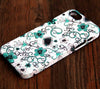 Elegant Floral Pattern iPhone 6 Plus/6/5S/5C/5/4S/4 Dual Layer Durable Tough Case #222 - Acyc - 1