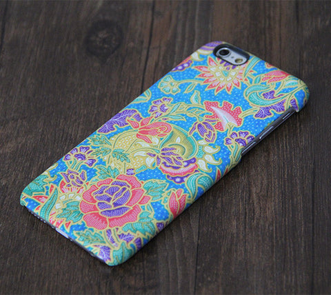 Persian style Floral Pattern iPhone 6s Plus/6/5S/5C/5/4S/4 Dual Layer Tough Case #327 - Acyc - 1