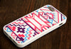 Pink Geometric iPhone 6 Plus 6 5S 5 5C 4 Rubber Case - Acyc - 2