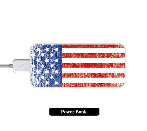 Stylish United Flag Power Bank External Battery Charger for iPhone and Samsung Andriod - Acyc - 1