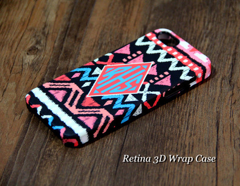 Native Geometric Monogram iPhone 6 Plus 6 5S 5 5C 4 Protective Case 967 - Acyc - 1
