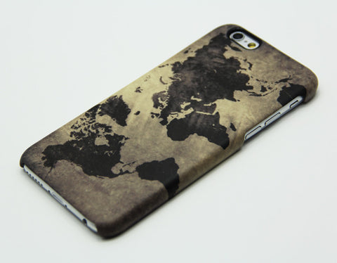World Map Iphone 6s Case.Grunge World Map Iphone 6 5s 5c 5 4s 4 Case Galaxy S5 S4 Note3 Case
